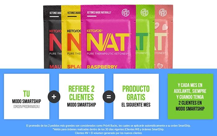 Programa de productos gratis Prüvit