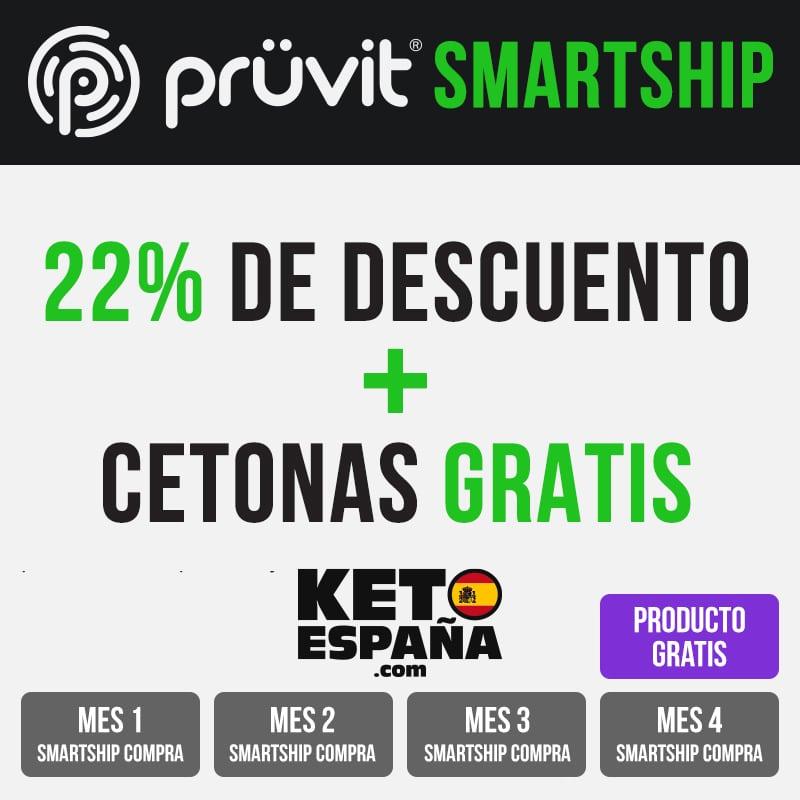Pruvit SmartShip 22% de Descuento